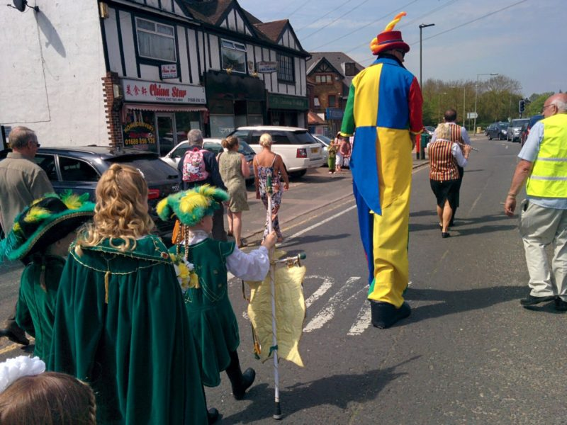 Pratts Bottom May Queen Procession