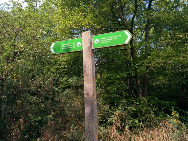 London Loop 3 - Signpost