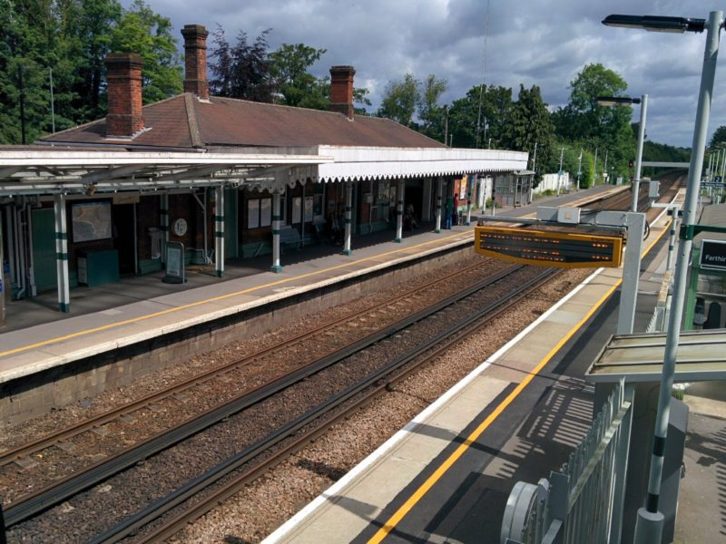Coulsdon South Station